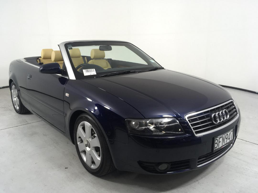 Used Audi A4 Cabriolet 2003   Tauranga   at Turners Cars   19788880   Turners