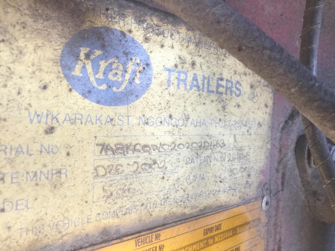 Photo '16' of KRAFT 586 Logger Trailer