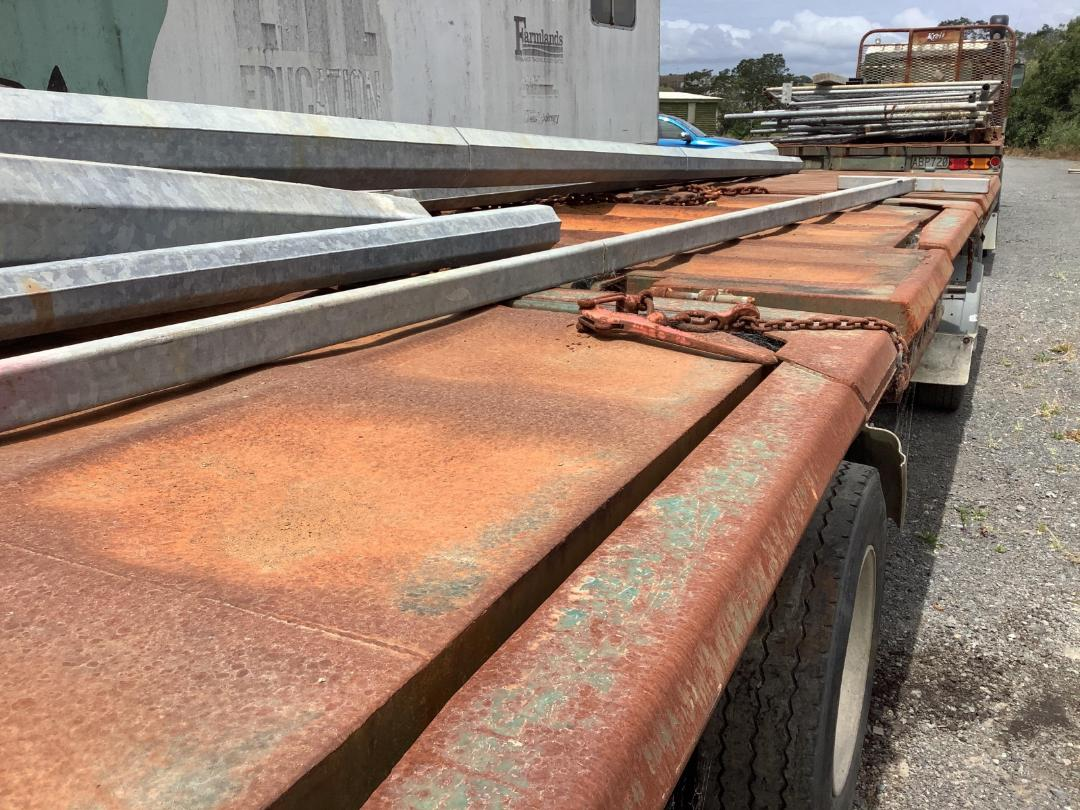 Photo '8' of Kraft 586 Flat Deck Trailer
