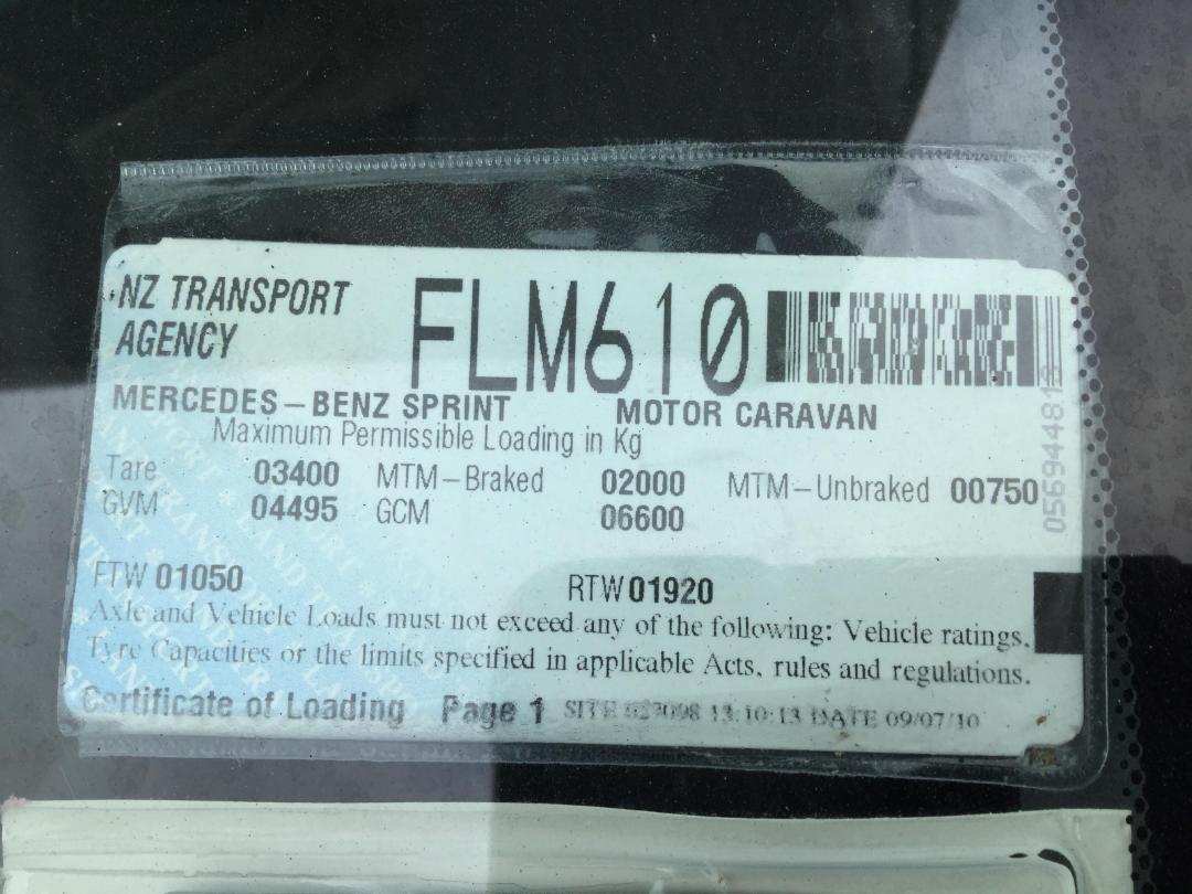 Photo '48' of Mercedes-Benz Sprinter 413CDI Motorhome