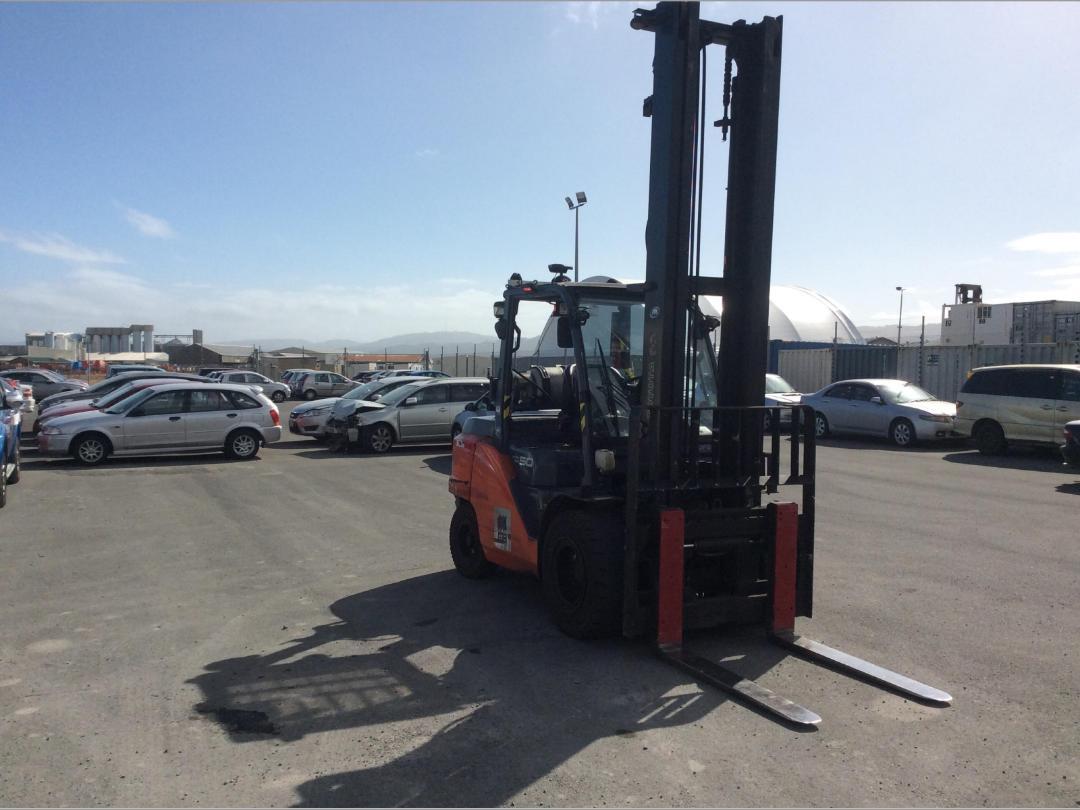 Photo '2' of Toyota 8FG50N Forklift