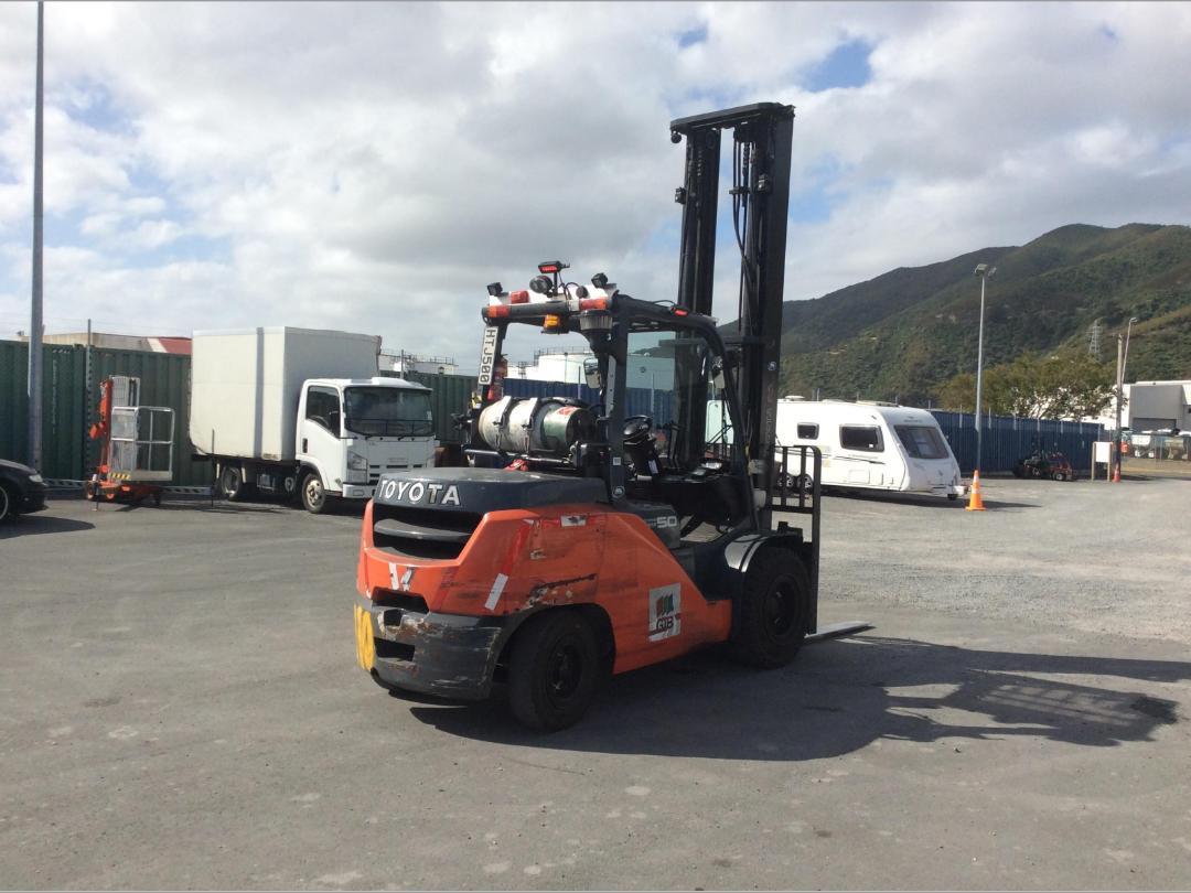 Photo '5' of Toyota 8FG50N Forklift