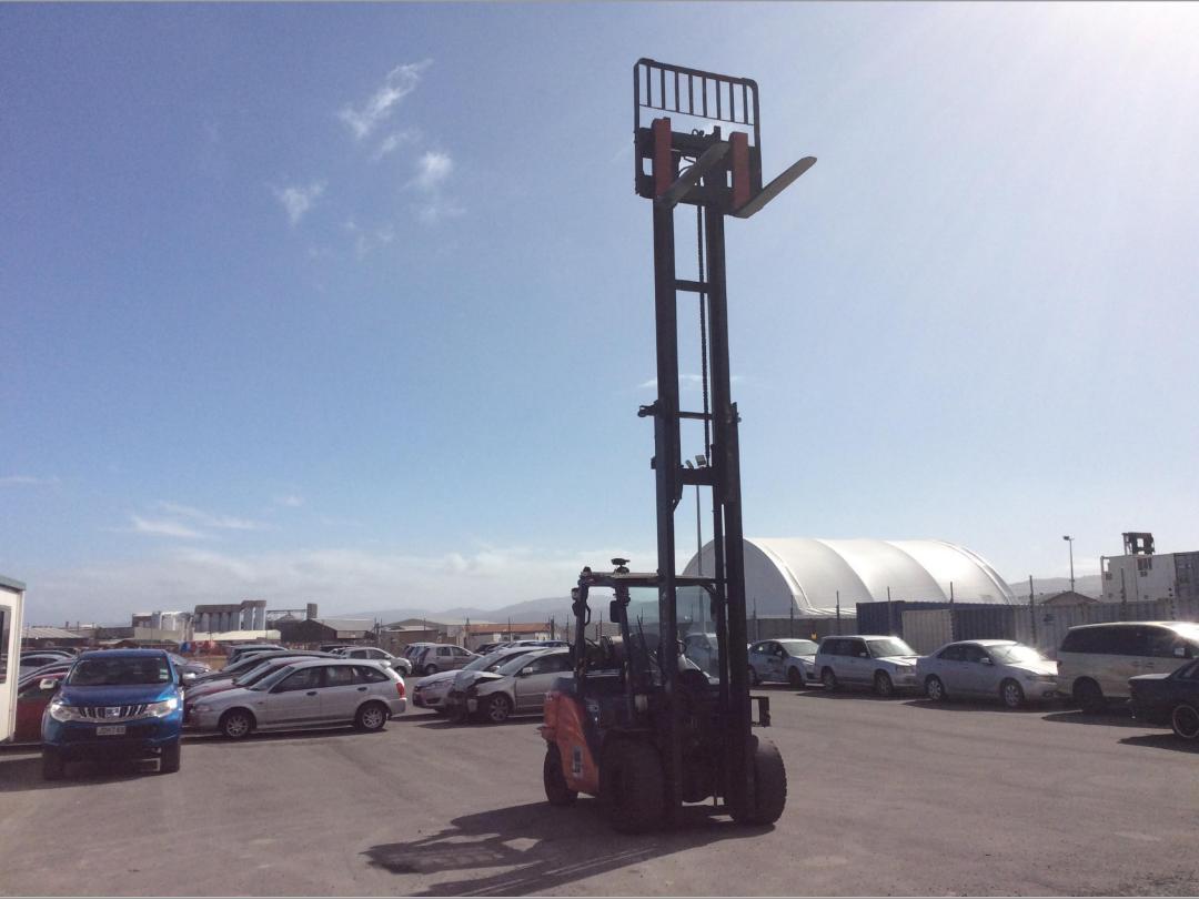 Photo '11' of Toyota 8FG50N Forklift