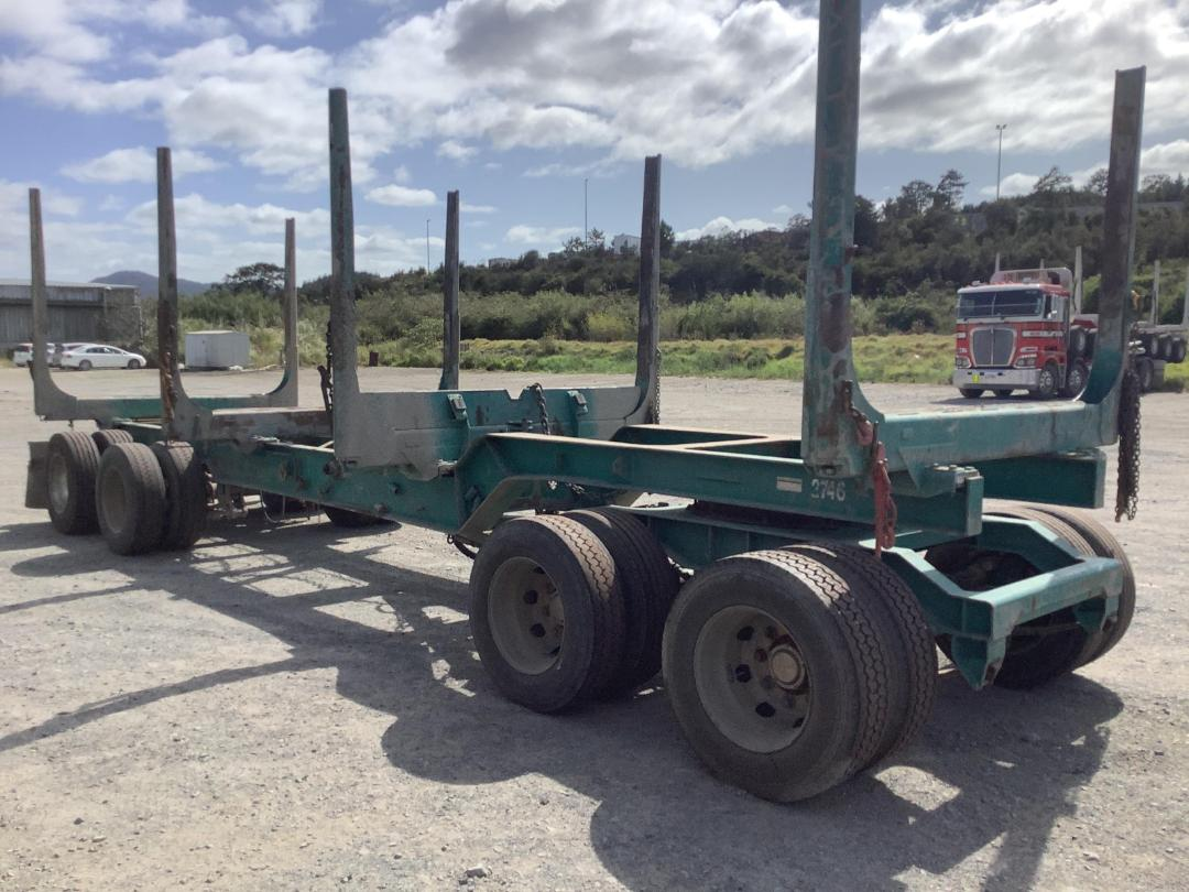 Photo '24' of Trailer Aliarc 4AHM6M Logger Trailer